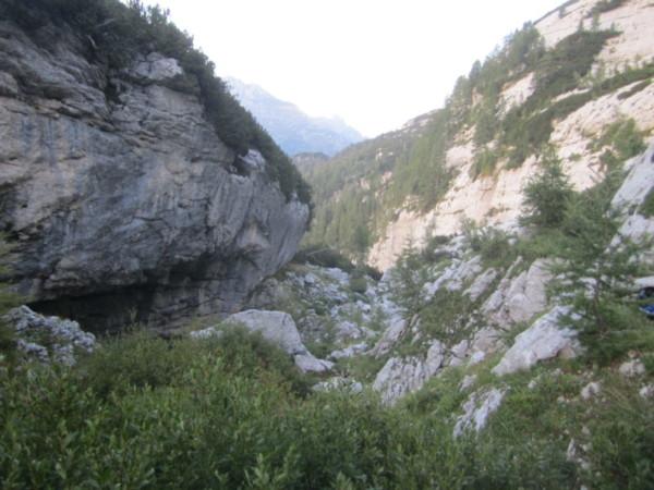 Ingresso grotta AIRON (Foto F.Deponte)