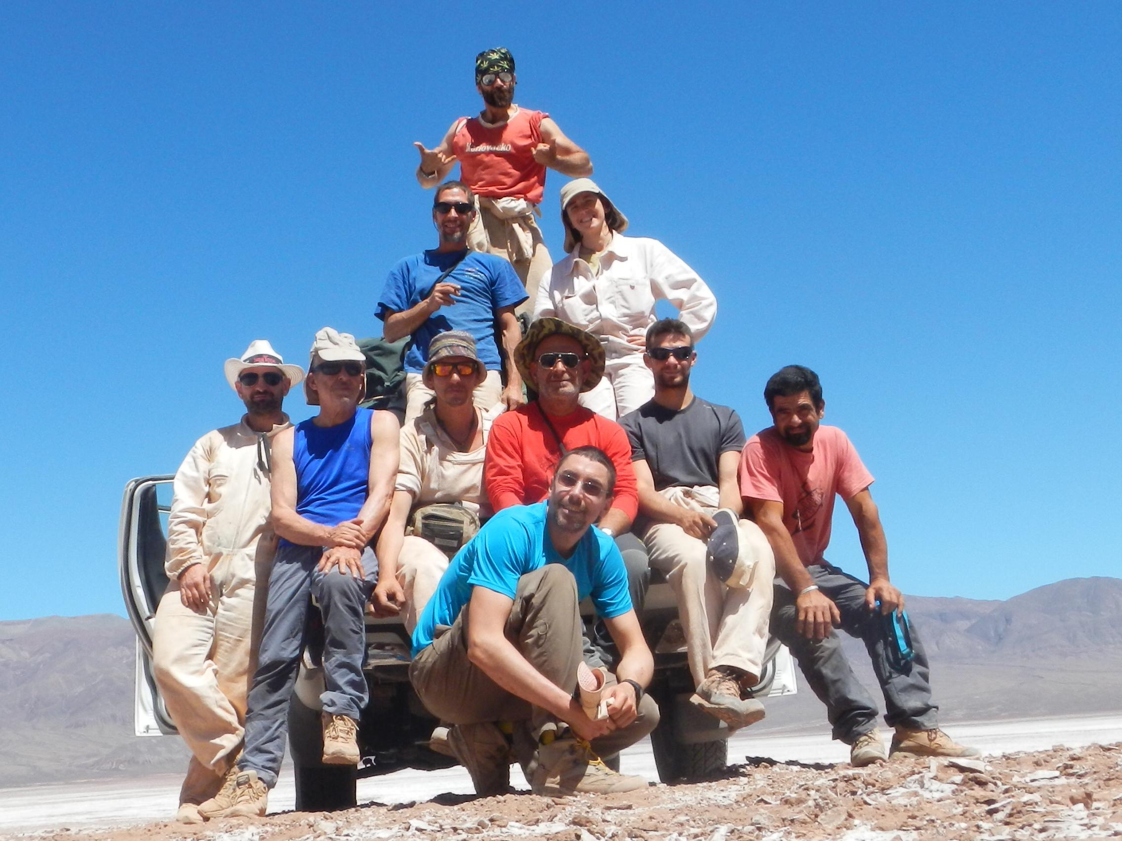 El grupo (foto M. Sticotti)