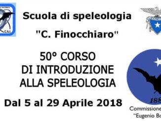 50° corso di introduzione alla speleologia